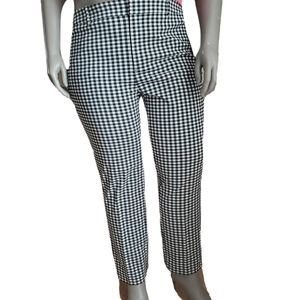 Lord & Taylor | Kelly High rise Gingham Ankle Pant